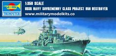 USSR Navy Sovremenny Class Project 956 Destroyer Trumpeter 04514