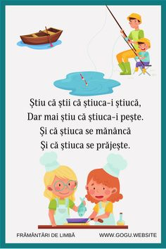 Speech Language Therapy, Speech And Language, Romanian Language, Tongue Twisters, Kids Education, Romans, Kids And Parenting, Student, Songs