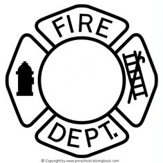 Find This Pin And More On Fireman Birthday Party Fire Safety Coloring Page