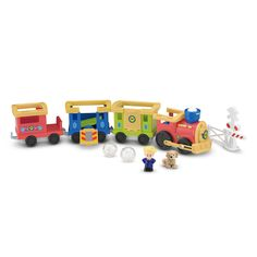 "Fisher-Price Little People Load & Go Train Playset - Fisher-Price - Toys ""R"" Us"