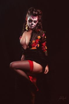 Santa Muerte #2 by klapouch on DeviantArt