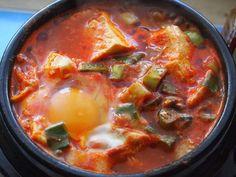 これが本場韓国スンドゥブチゲの画像