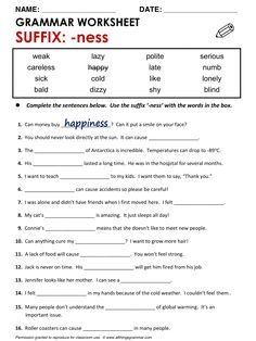 Quality ESL grammar worksheets, quizzes and games - from A to Z - for teachers & learners SUFFIX: '-ER' English Quiz, English Tips, English Lessons, Learn English, Suffixes Worksheets, Prefixes And Suffixes, Vocabulary Worksheets, Reading Worksheets, Grammar Quiz