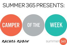 Summer 365 Camper of the Week   Rachel Rubin, Founder Fit with Rachel