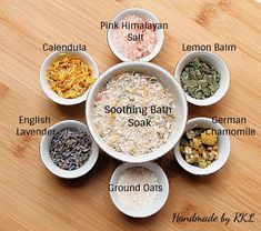 Treat your itchy winter skin with Soothing Bath Soak available in stand up pouch. Link in bio With skin loving pink himalayan salts, organic oats, calming and soothing botanical blend of lemon balm, lavender, calendula & german chamomile. Bath Recipes, No Salt Recipes, Soap Recipes, Bath Salts Recipe, Spiritual Bath, Bath Tea, Milk Bath, Diy Skin Care, Homemade Beauty