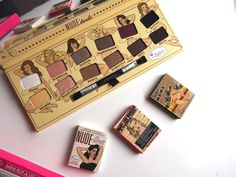 thebalm Nude Tude Eyeshadow Palette - swatches and review on Irish Beauty Blog, John, It's Only Makeup! All About Eyes, Eyeshadow Palette, Shadows, Mascara, Swatch, The Balm, Irish, Nude, Makeup
