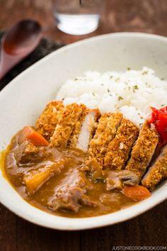 Katsu Curry | Easy Japanese Recipes at http://JustOneCookbook.com