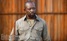 """He has gone through a transformation that viewers will find out about,"" Lenny James says about his character, Morgan Jones, in season 6. #TheWalkingDead Image Credit: Gene Page/AMC"