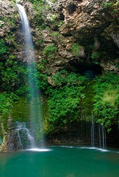 "✮ Natural Falls State Park - Oklahoma...Where the movie ""Where the Red Fern Grows"" was filmed."