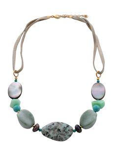 Sea Hues Genuine Stone Necklace