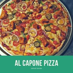 Al Capone Pizza recipe by Salmah Dendar posted on 06 Jul 2019 . Recipe has a rating of by 1 members and the recipe belongs in the Pastas, Pizzas recipes category Chicken Masala, Chicken Tikka, Wheat Free Recipes, Garlic Oil, Al Capone, Food Categories, Garam Masala, Stuffed Green Peppers, Pizza