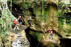 Guachipelin Adventure Zipline Horseback River Tubing Combo in Costa Rica from $135
