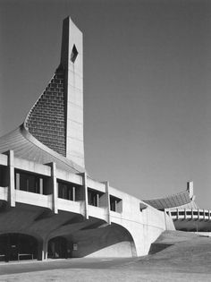Yoyogi National Indoor Stadiums   1961-1964   Tokyo, Japan   Kenzo Tange