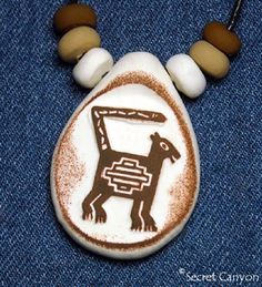 Clay Pendant Primitive Native American Cat Necklace Mimbres Tribe ~SECRET CANYON~ http://www.amazon.com/dp/B00KOV3W0K/ref=cm_sw_r_pi_dp_1EShub11GD8J5
