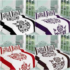 Book Now - NEW DARCY FLORAL DUVET QUILT COVER SINGLE DOUBLE KING SUPERKING BEDDING SET. #Singlebed #doublebed #kingsize #bedding #fullduvetcover #duvetset #duvetbedding #duvetbed #duvetsheets #beddecoration #homeimprovement #homedecore #roomdeco #floral #floralbed #floralsheet #floralcover #colorsheets #redduvet #blackduvet #plumduvet and much more ideal designs for living rooms King Bedding Sets, Duvet Bedding, Duvet Sets, Full Duvet Cover, Quilt Cover, Living Room Designs, Living Rooms, Pattern Floral, Superking Bed