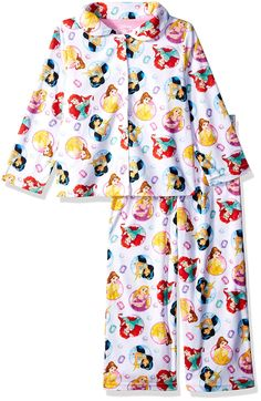 Disney Girls  Multi-Princess 2-Piece Pajama Coat Set. Women s Fashion  Outfits ae6c0f100