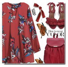 """""""Wear color"""" by soks ❤ liked on Polyvore"""