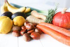 Les bienfaits de manger local et de saison   Liste des fruits & légumes du mois de novembre – Ally Bing Hot Dogs, Ethnic Recipes, Desserts, Food, November Month, In Season Produce, Fruits And Veggies, Vegetarische Rezepte, Healthy