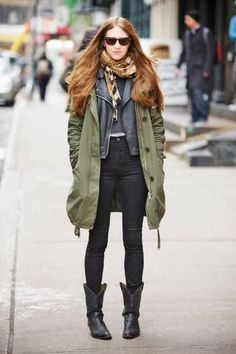 What to Wear With Cowboy Boots | StyleCaster--Hyland would love