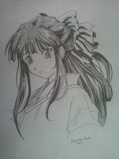 My first Manga drawing