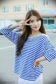 IU posing at Wando