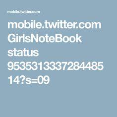 mobile.twitter.com GirlsNoteBook status 953531333728448514?s=09