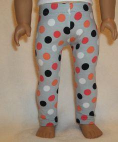 18 inch doll clothes gray cotton spandex knit by GoodGollyMsDolly