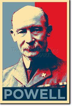 LORD ROBERT BADEN POWELL ART PHOTO PRINT (OBAMA HOPE) POSTER GIFT BOY SCOUTS | eBay