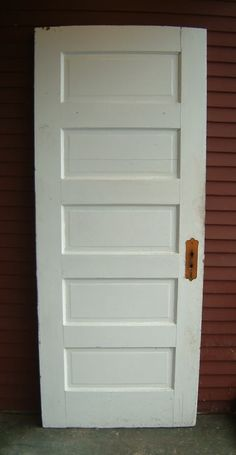"""Sliders for new """"powder rooms""""?ASSEMBLAGE: 5 panel doors $25 each 2/10/2013"""