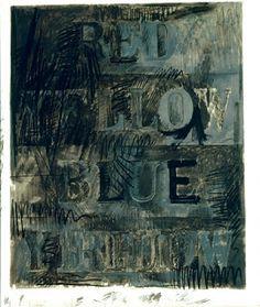 Art In Day: Jasper Johns Jasper Johns, Robert Rauschenberg, Folly Beach, Art Friend, Color Harmony, Sculpture, Contemporary Artists, American Art, Printmaking