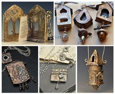 Christi Anderson metal clay jewelry