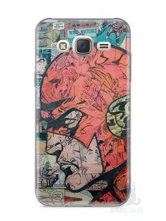 Capa Capinha Samsung J7 The Flash Comic Books - SmartCases - Acessórios para celulares e tablets :)