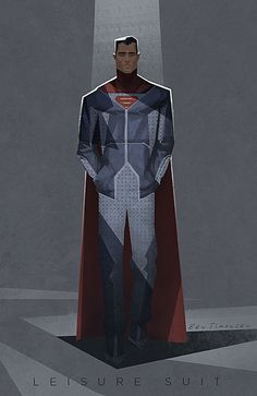 Superman by Ben Simonsen, Leisure Suit