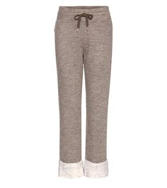 See By Chloé Cotton And Wool-blend Track Pants   MYTHERESA USA saved by #ShoppingIS