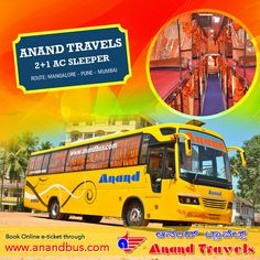 Daily service from Mangalore to Mumbai via Pune. Book Online tickets in AC sleeper coach and get flat 5% off on all tickets. http://www.anandbus.com/e-bookings/94/Mangalore/97/Mumbai  #Mumbai #Pune #Mangalore #Bus #OnlineBus #OnlineBusTickets