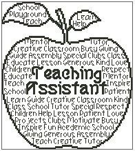 Teacher In Words is a unique outline cross stitch chart measuring 95 stitches wide by 107 stitches high and has been designed for you to you use Cross Stitch Charts, Cross Stitch Designs, Cross Stitch Patterns, Teacher Appreciation Gifts, Teacher Gifts, Teacher Presents, Machine Embroidery Applique, Cross Stitch Embroidery, Embroidery Ideas