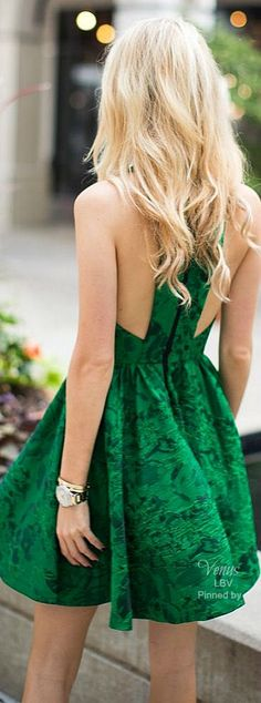 Emerald Green ♥✤Chic Fashion