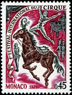 1974 Mónaco - I Festival Internacional de Circo