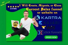 I will build,clone,migrate funnel,website using clickfunnels, kajabi, kartra, or wix – FiverrBox We Are A Team, Admin Panel, Promotion, Knowledge, The Incredibles, Website, Facts