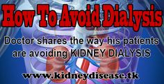 """This is how my kidney dialysis patients are healing their kidneys http://kidneydisease.tk/theprogram (click for full access to the program)   This is a program that could be extremely helpful if you have kidney disease, impaired kidney function or if you're on """"kidney dialysis"""".  Read the full article here: http://kidneydisease.tk/patients-avoid-kidney-dialysis/"""