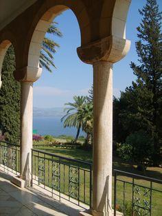 Mount of Beatitudes - Sea of Galilee  Israel