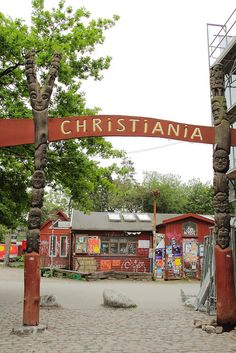 Freetown Christiania - Hovedstaden, Denmark