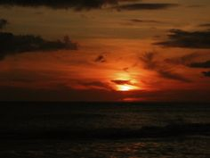 Hawaiian vacation sunset!  It was a gorgeous night!