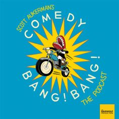 Comedy Bang Bang: The Podcast - This long-running improv pod has caused me to embarrass myself—on numerous occasions—by making me laugh out loud on my daily subway commute. The show is a combination of straight interviews with celebrity guests followed by one or two kooky characters. Even host Scott Aukerman's sponsored commercials offer hilarious bouts of surreal anti-humor.