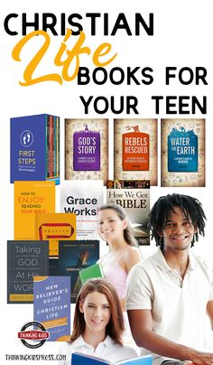 Christian life books for your teens will help your kids learn more about Christian living. Help teens explore Christian life basics, the Bible, Homeschool High School, Homeschool Curriculum, Parenting Articles, Parenting Hacks, Christian Living, Christian Life, Books For Teens, Science Books, Christian Parenting