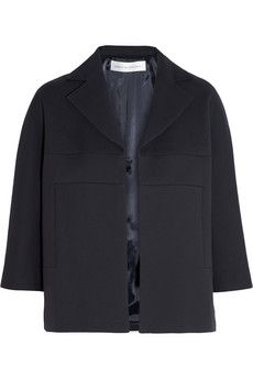 Victoria Beckham Denim Oversized twill jacket | NET-A-PORTER