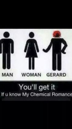 ~Gerard Way from My Chemical Romance Emo Band Memes, Emo Bands, Music Bands, My Chemical Romance Memes, Sass Queen, Bts Memes, We Will Rock You, Black Parade, Music Memes