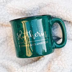 Slytherin Campfire Mug | A Little Tinsel