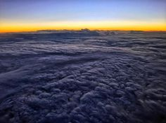 Sunset somewhere over the Caribbean by travis_cano
