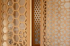 Movable, perforated screens allow this north London apartment to be adapted to suit various situations.Studio Ben Allen was brought on to make the apartment's London Apartment, Cozy Apartment, Indian Architecture, Architecture Design, Sea Container Homes, Screen House, Apartment Layout, Types Of Houses, House Prices